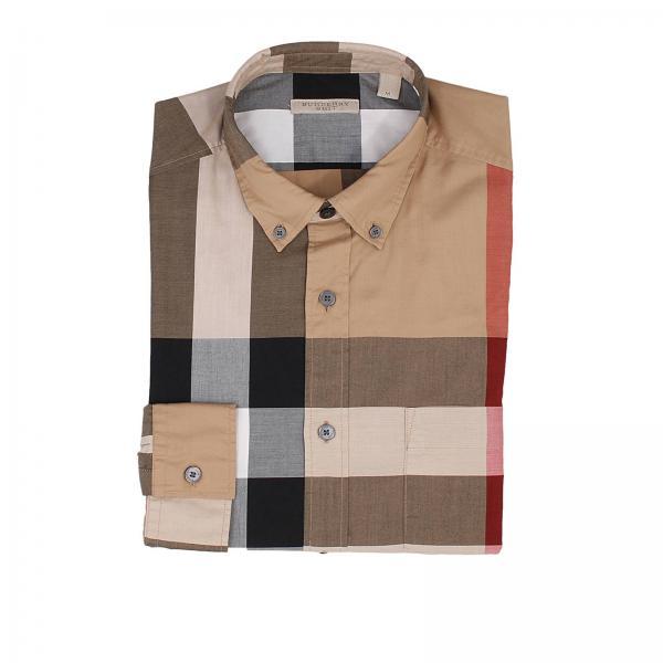 burberry uomo camicia