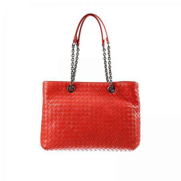 6b62eada2100 Shoulder Bag Women Bottega Veneta Red