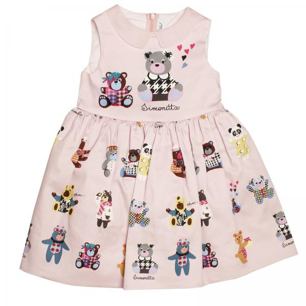 Dress Little Girl Simonetta Mini