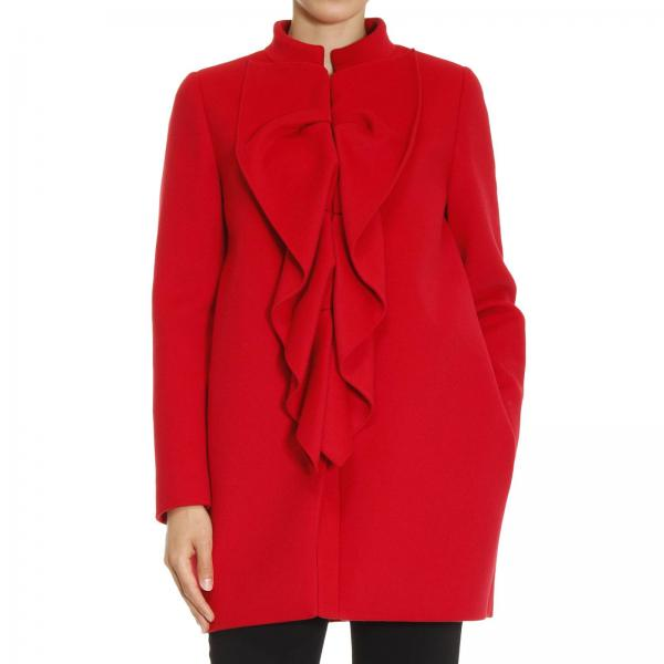 Coat Women Boutique Moschino
