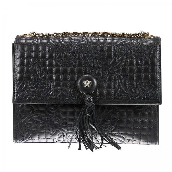 Shoulder bag Women Versace Black  35bb7b3a21bca
