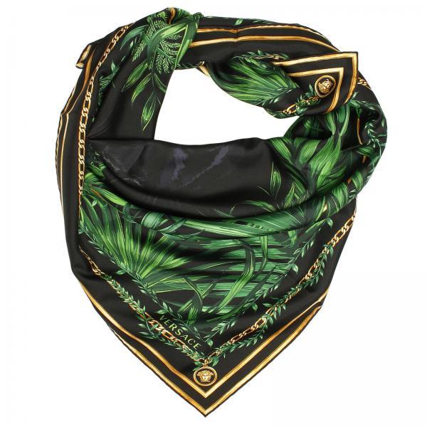 388c46856c39 Foulard Femme Versace Vert   Foulard Pour Femme Versace   Foulard ...