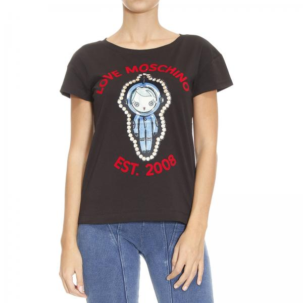 T-Shirt Damen MOSCHINO LOVE