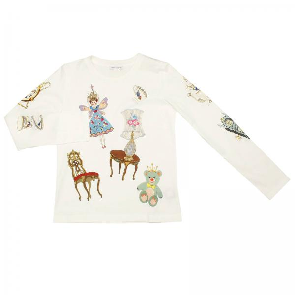 T-shirt Little Girl Dolce & Gabbana