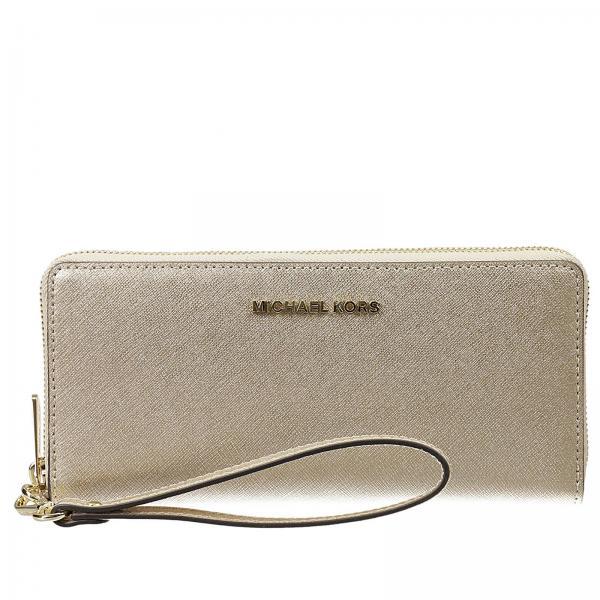 0e539ecfd2fd Michael Michael Kors Women s Gold Wallet