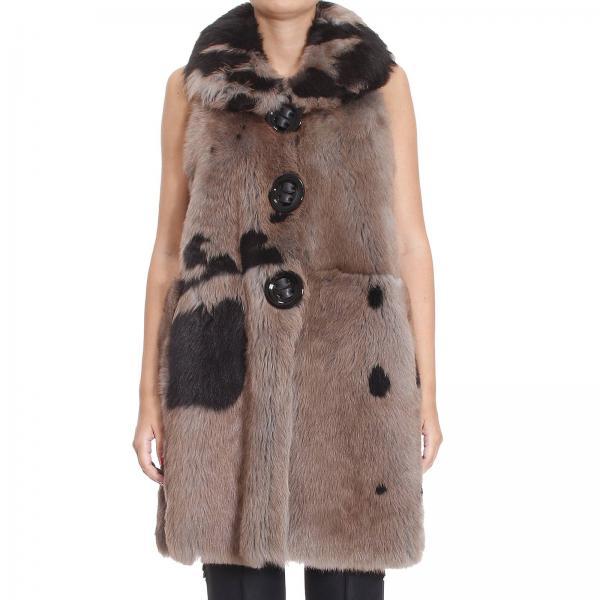 mantel f r damen giorgio armani brown mantel giorgio armani uaj01p uap30 giglio de. Black Bedroom Furniture Sets. Home Design Ideas