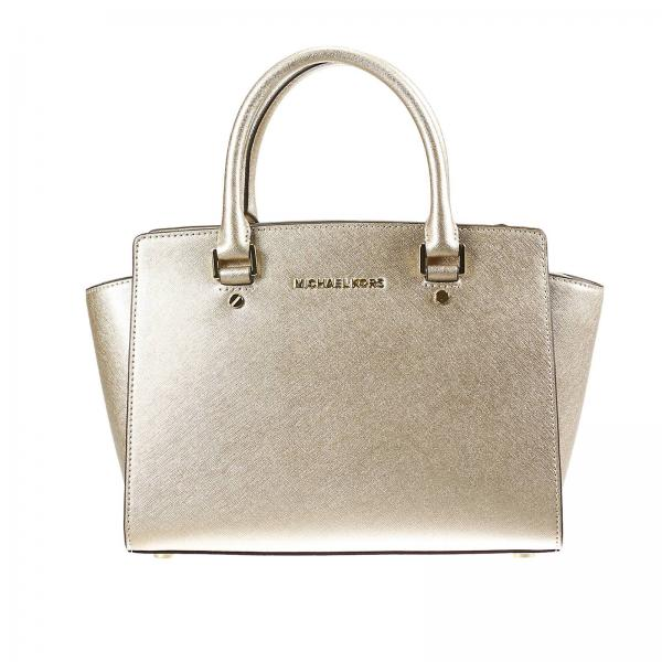Shoulder bag Women Michael Michael Kors Gold  fa0baf0926abf