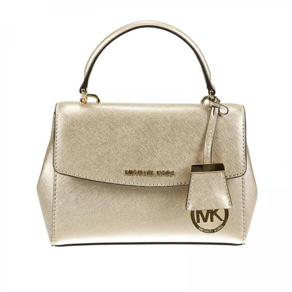 323b54f76d ... shop michael michael kors womens gold mini bag clutch woman michael  michael kors michael kors mini