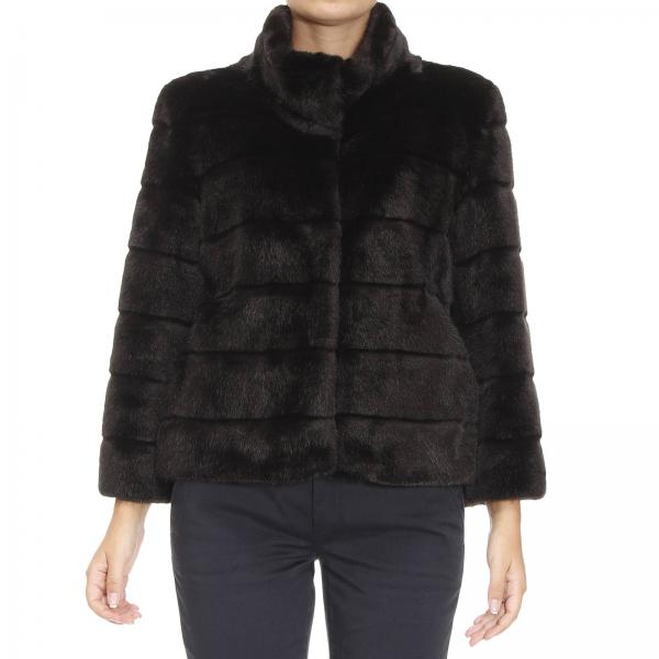 Fur Coats Women Armani Jeans