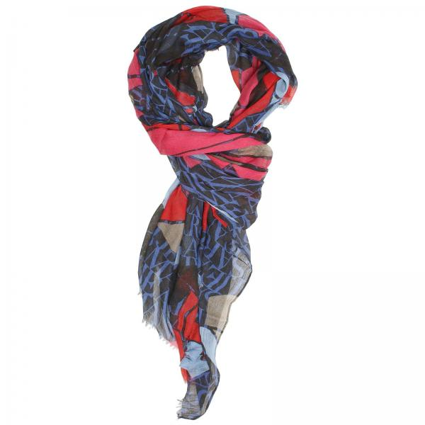 armani s blue scarf scarf armani