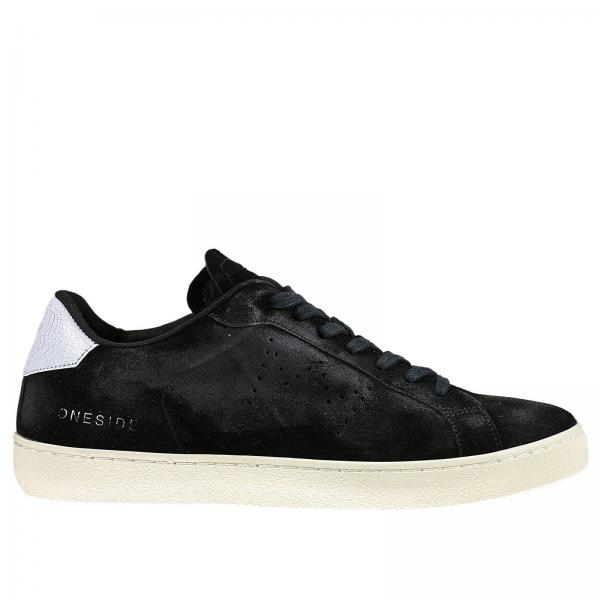 Sneakers Men Leather Crown