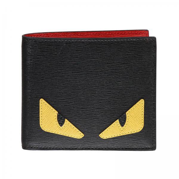 sito web professionale 100% autenticato tessuti pregiati Porta carte bugs interno contrasto rosso