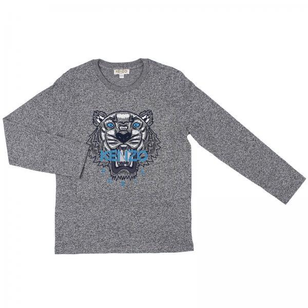 996ef2e0b8df T-shirt little boy Kenzo Junior Grey
