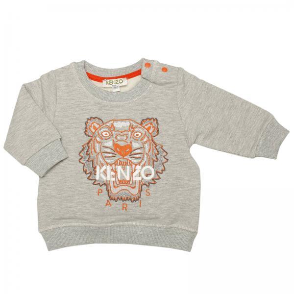 SweaterChild Kenzo Junior Baby's Baby's Grey Kenzo Junior Grey ZiPXOku