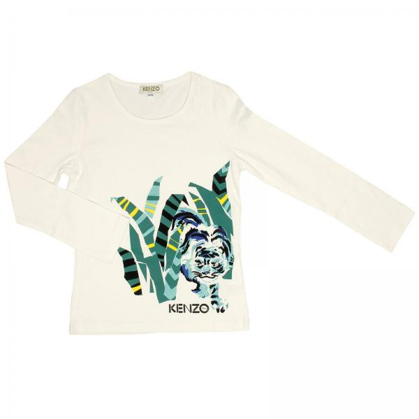 T-shirt Little Girl Kenzo Junior