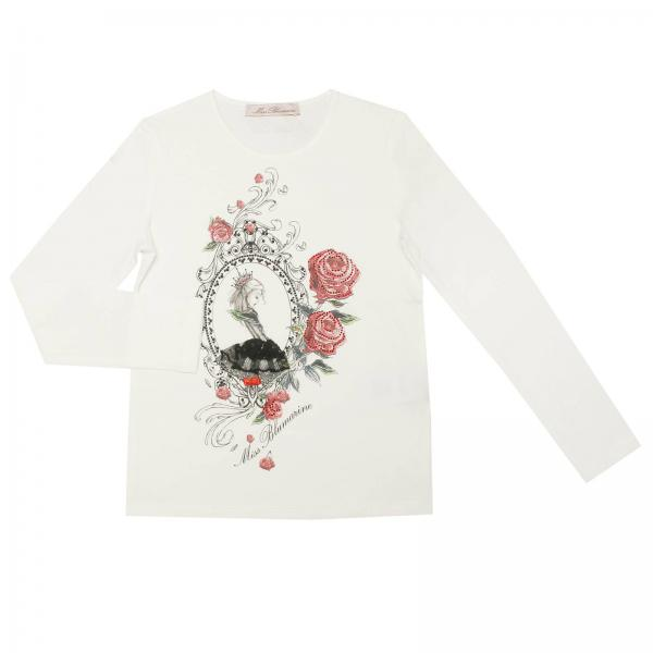 T-shirt Little Girl Miss Blumarine