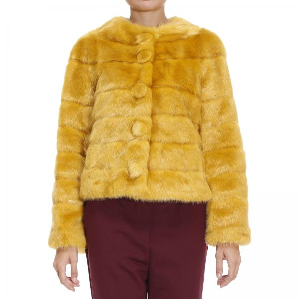 Fur Coats Women Twin Set