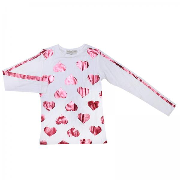 T-shirt Little Girl Twin Set