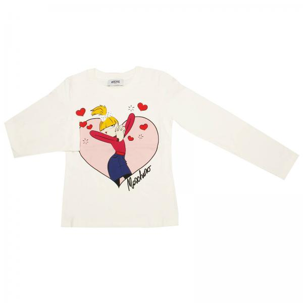 T-shirt Fille Moschino Kid