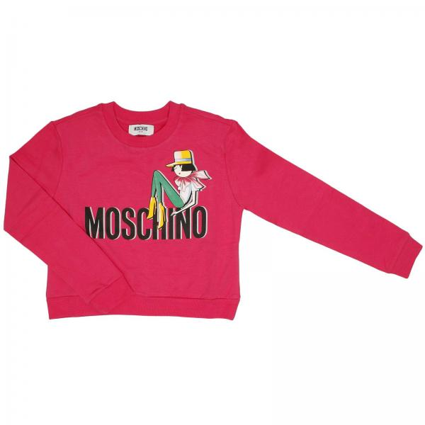 Sweater Little Girl Moschino Kid