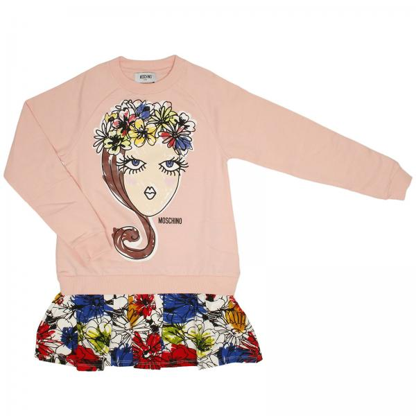 Dress Little Girl Moschino Kid