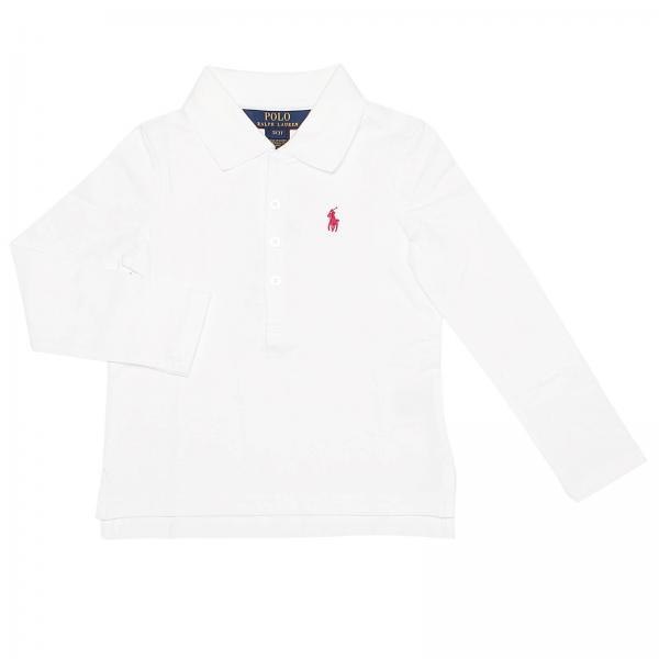T-shirt Fille Polo Ralph Lauren Toddler