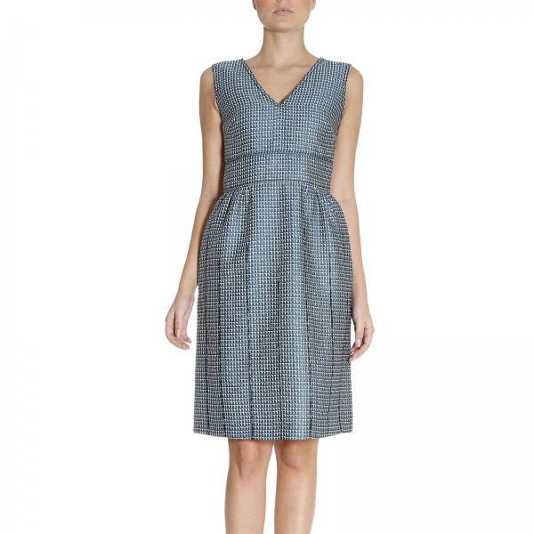 603a7eb4d0d Robes Femme Bottega Veneta Bleu Barbeau