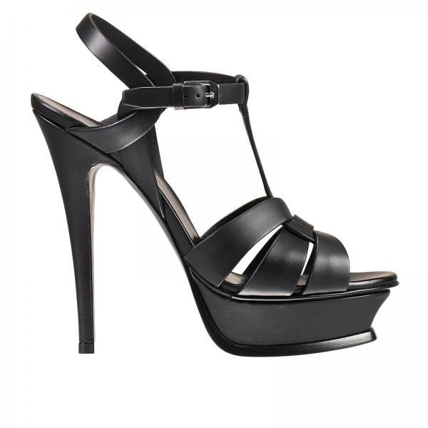 Heeled sandals Women Saint Laurent  81733c1aa