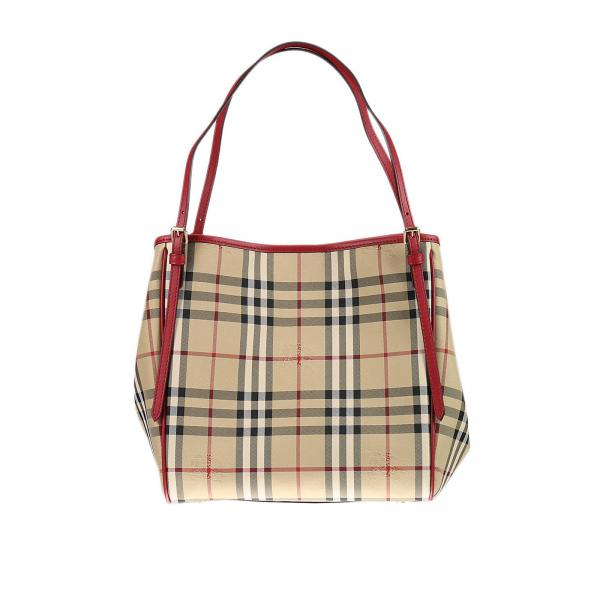 Shoulder bag Women Burberry Red  d55c0f337