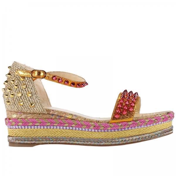 acheter populaire 9325e 006eb Chaussures Compensées Chaussures Femme Christian Louboutin