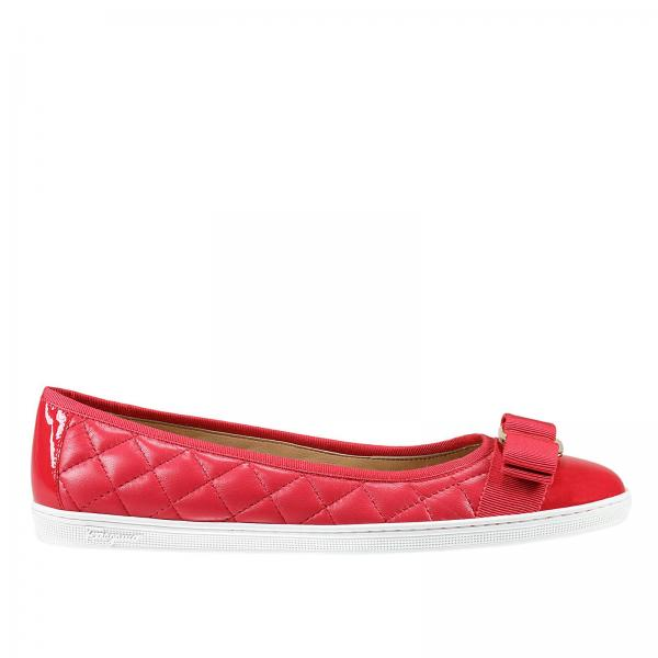 bc0c20777 Salvatore Ferragamo Women's Coral Ballet Flats | Shoes Women Salvatore  Ferragamo | Salvatore Ferragamo Ballet Flats 655678 033933 - Giglio EN
