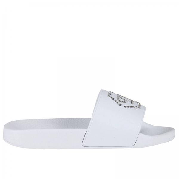 Sandales plates Femme Philipp Plein   Chaussures Femme Philipp Plein ... 813369f1c72