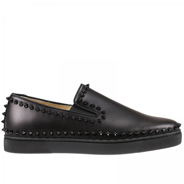 louboutin Boat Shoe nero