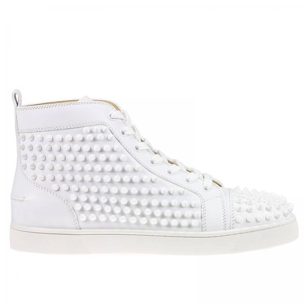louboutin homme chaussure blanche