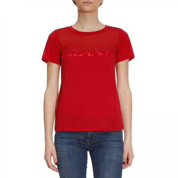 Armani Jeans Red T Shirt