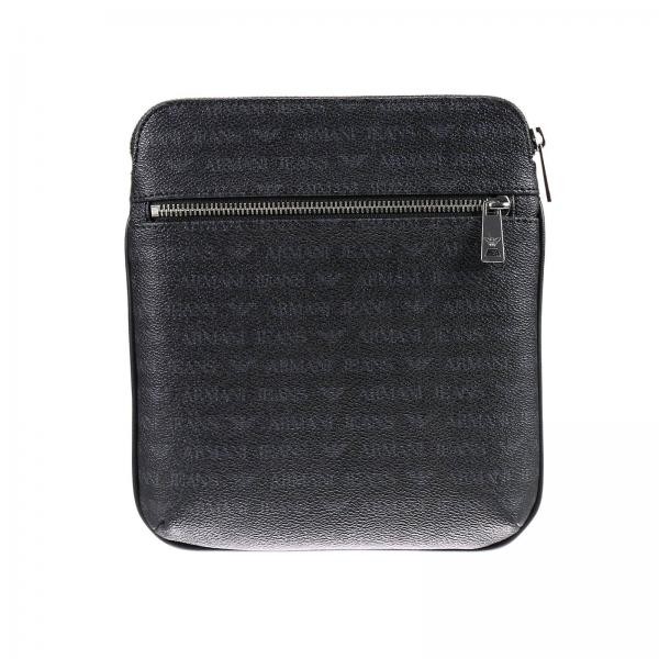 4153b9001b Armani Jeans Men s Black Shoulder Bag