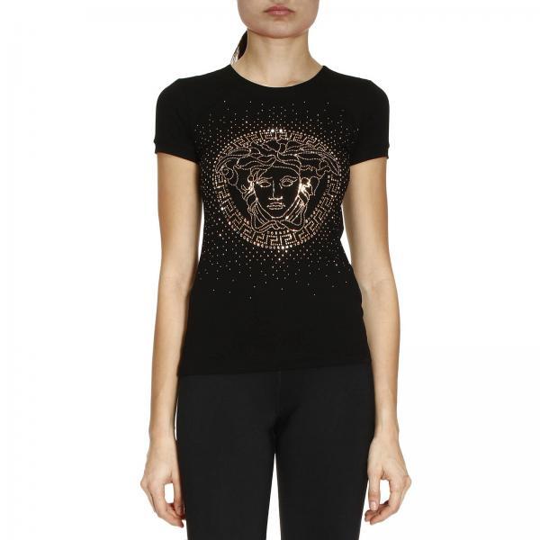 8e0ddda87b81 Versace Women s T-shirt   T-shirt Women Versace   Versace T-shirt ...