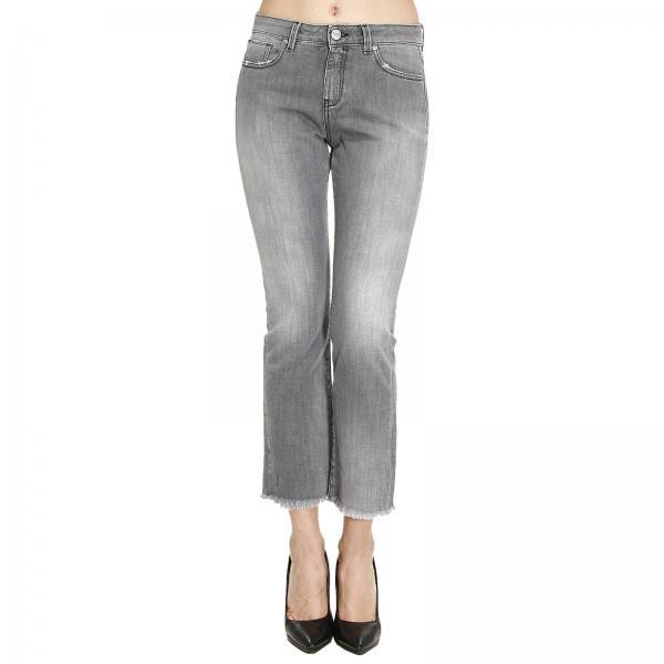 Jeans donna pinko jean grigio jeans clizia a trombetta for Raumgestaltung jean grigo