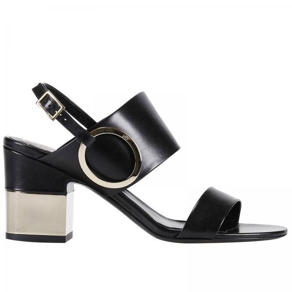 Sandales en cuir PodiumRoger Vivier g6BltI