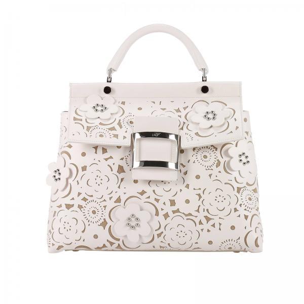 Handbag Women Roger Vivier White 97eb840d8bdfe