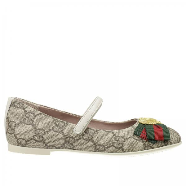 Zapatos Niña Gucci Beige  07b0d4126c8