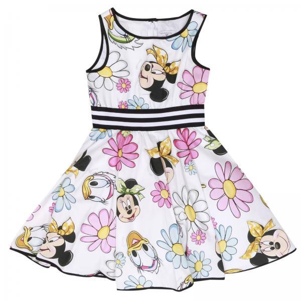 Monnalisa Little Girl s White Dress  5b711ff07d69
