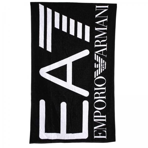ea7 swimwear men 39 s beach towel beach towel men ea7. Black Bedroom Furniture Sets. Home Design Ideas