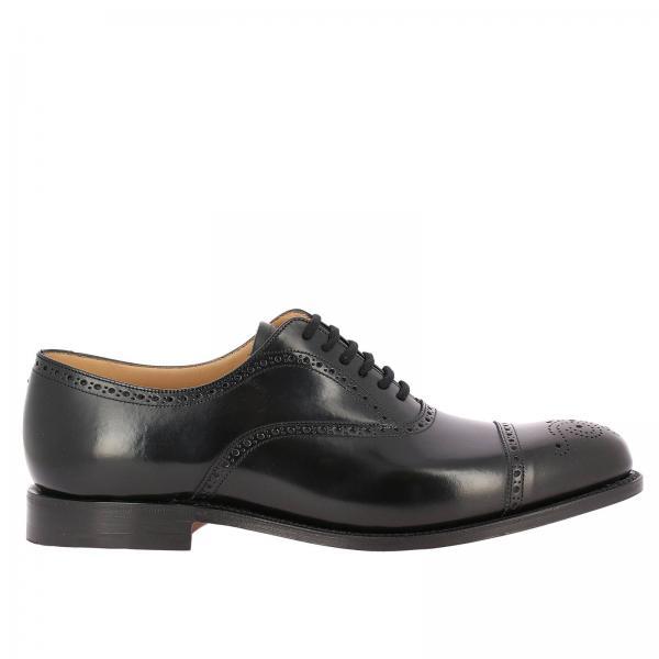 Artículo Church's Continuativo Zapatos Eeb027 De Hombre Cordones 9xvgiglio Wwax4817q
