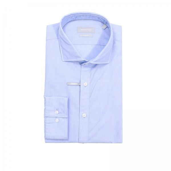 2cd3b2e9b666 Shirt Men Michael Michael Kors Gnawed Blue