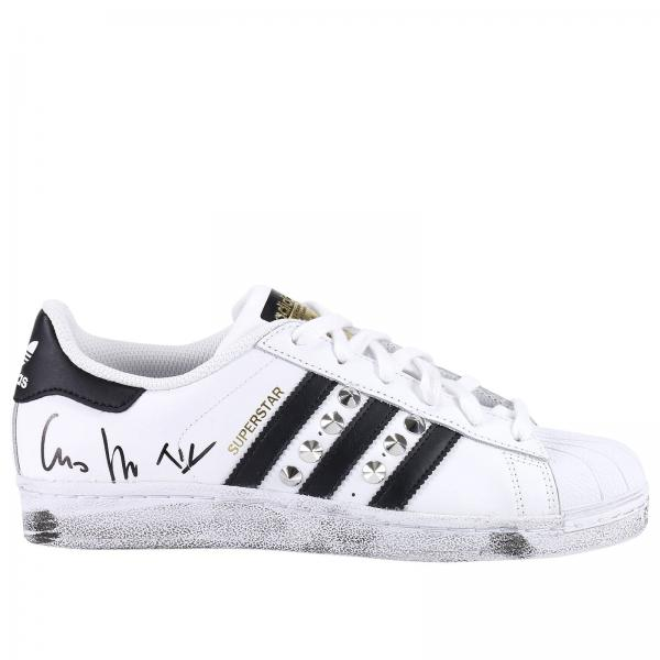 Sneakers Donna Adidas Project Customize Bianco | Superstar J Sneakers Con Borchie | Sneakers Adidas C77154 - Giglio IT