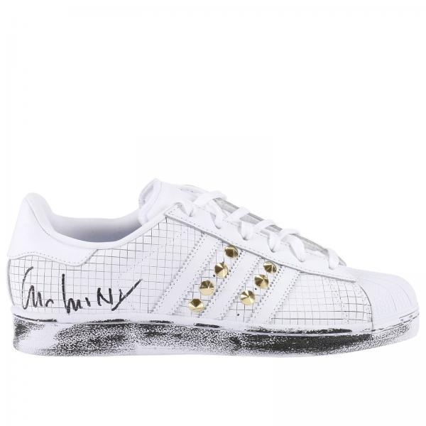 big sale 7cafd 988d5 Sneakers Donna Adidas Project Customize Bianco   Superstar Sneakers  Intaglio Quadretto Con Borchie   Sneakers Adidas Aq8334 - Giglio IT