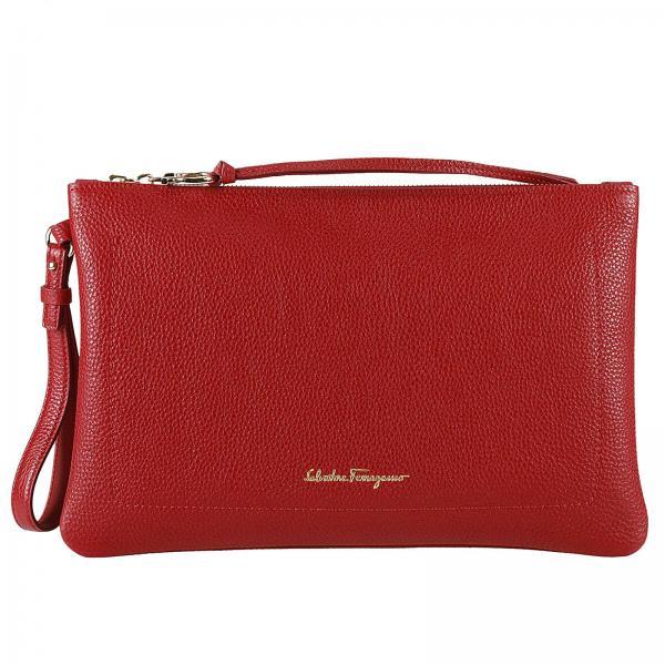 Clutch Women Salvatore Ferragamo Red  55948a3cddee9