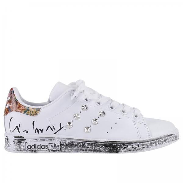 Sneakers Donna Adidas Project Customize Fantasia | Sneaker Stan Smith Flowers Con Borchie | Sneakers Adidas Bb5160 - Giglio IT