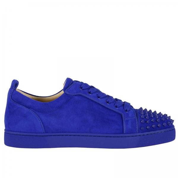 Christian Louboutin Men S Royal Blue Shoes Shoes Men